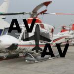 Вертолеты Bell в парке Abu Dhabi Aviation налетали 1 млн. часов