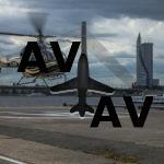 В Рижском порту открыли первый вертодром